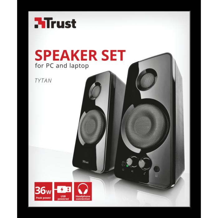 Casse Amplificate Trust Tytan 2.0 SPEAKER SET