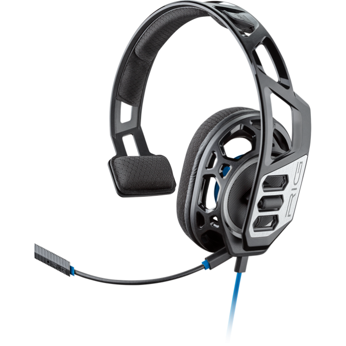 Cuffia con microfono Gaming Monofonica x Playstation 4 PS4 Plantronics Nera