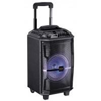 Cassa Bluetooth MusicBox 90W Mediacom con trolley e Karaoke