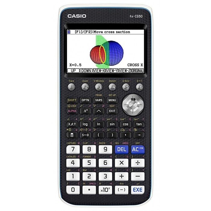 Calcolatrice Scientifica Grafica a colori Casio FX-CG50 3D 16Mb