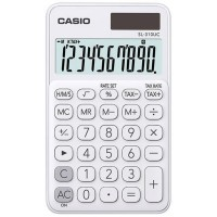 Calcolatrice tascabile 10 cifre Casio SL-310UC bianca
