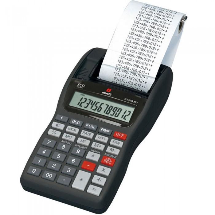 Calcolatrice scrivente da tavolo Olivetti Summa 301