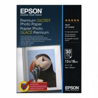 Carta fotografica Epson premium glossy lucida C13S042154 5 stelle 13X18 30 fogli
