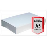 Risma di carta A/5 da 1000 fogli 80gr bianca