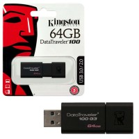 PENDRIVE  64GB USB KINGSTON G3 3.1 3.0 2.0  DT100G3/64GB