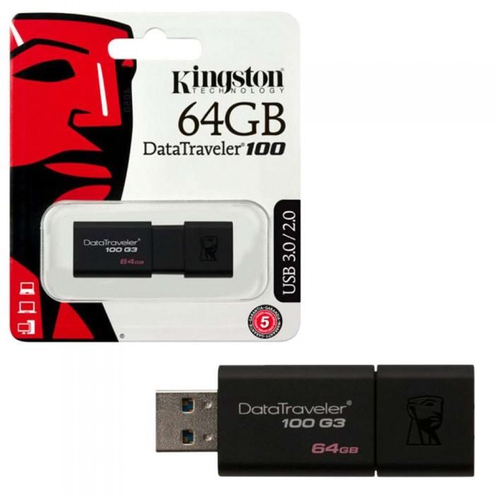 PENDRIVE  64GB USB KINGSTON G3 3.1 3.0 2.0  DT100G3/64GB