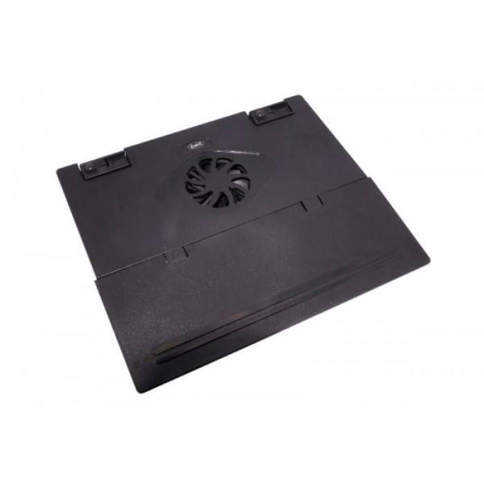 """Supporto per notebook fino a 17"""" con ventola e hub 4 porte USB Buffetti"""