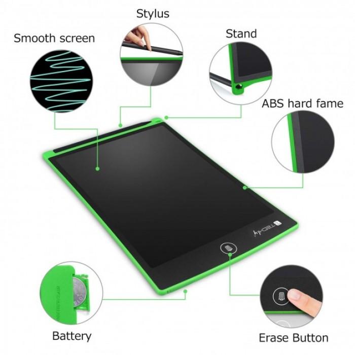Lavagna tavoletta grafica portatile per disegno e scrittura Techly GT-88