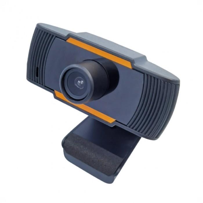 A Webcam con microfono GBC HD 720 ideale per Meet ,Skype PC Mac