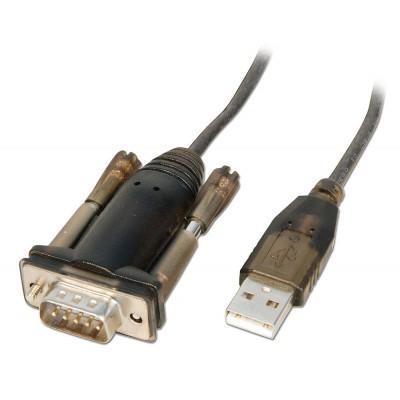 Adattatore Convertitore USB Seriale RS232 9 poli Lindy