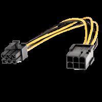 Cavo di alimentazione per PCIe ATX - 1x6 poli M a 1x6 poli F