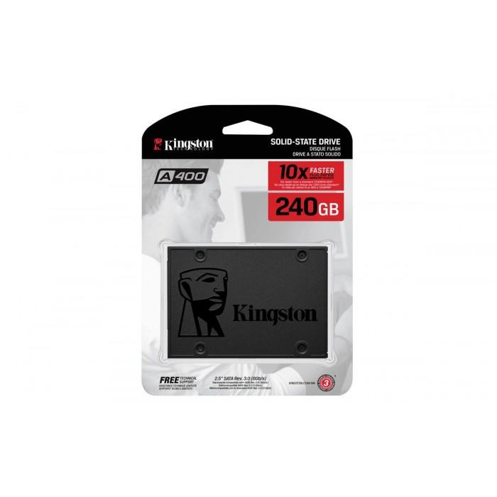 Hard disk SSD Kingston 240gb A400 10X