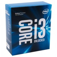 INTEL Processore Core i3-7100 (Kaby Lake) Dual-Core 3.9 GHz GPU integrata Intel HD 630
