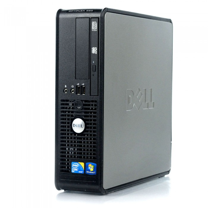 Computer Desk Dell OptiPlex 380SFF E7500 Windows 7 Pro