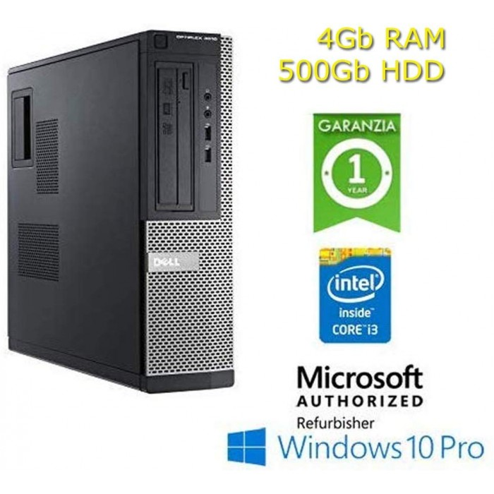 Computer Dell Optiplex 3010 Rigenerato I3 W10