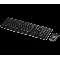 Tastiera e Mouse Wireless Logitech Combo MK270