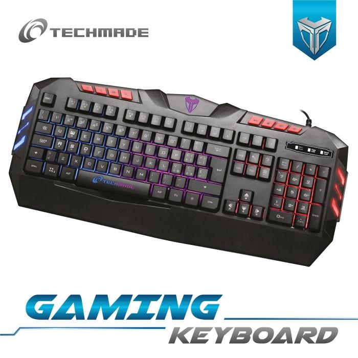 Tastiera Gaming da gioco retroilluminata Techmade 937