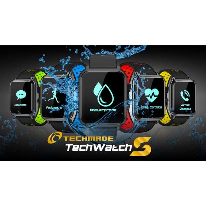 Orologio Smartwatch & Fitness Techwatch S1