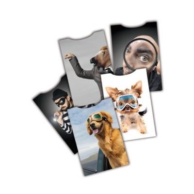 Custodia di protezione per carte di credito/bancomat contactless