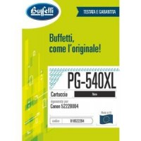 Cartuccia Inchiostro Buffetti per Canon PG-540XL nera