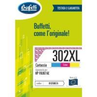 Cartuccia Inchiostro Buffetti per HP 302XL a colori