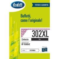 Cartuccia Inchiostro Buffetti per HP 302XL nera
