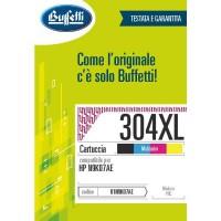 Cartuccia Inchiostro Buffetti per HP 304XL colore