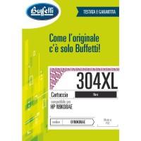 Cartuccia Inchiostro Buffetti per HP 304XL Nera