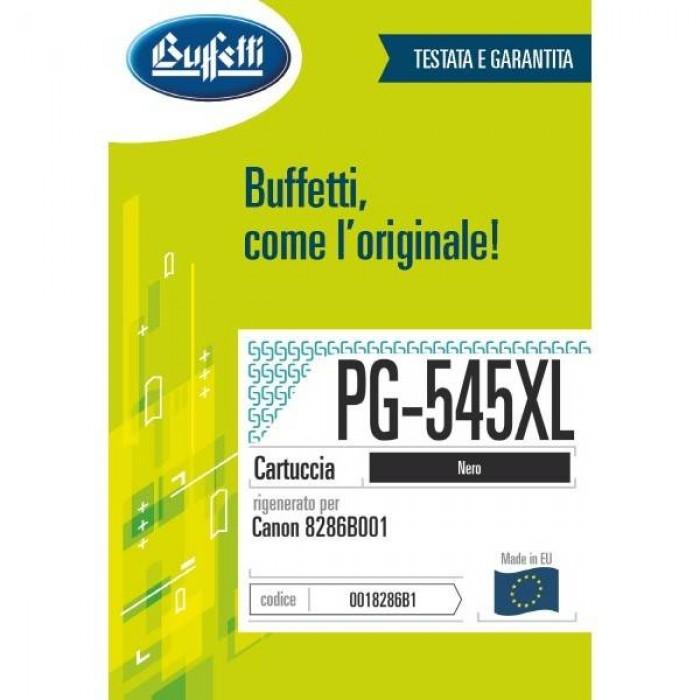 Cartuccia Inchiostro Buffetti per Canon PG-545XL nera