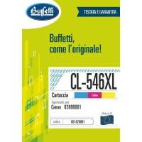 Cartuccia Inchiostro Buffetti per Canon PG-546XL colore