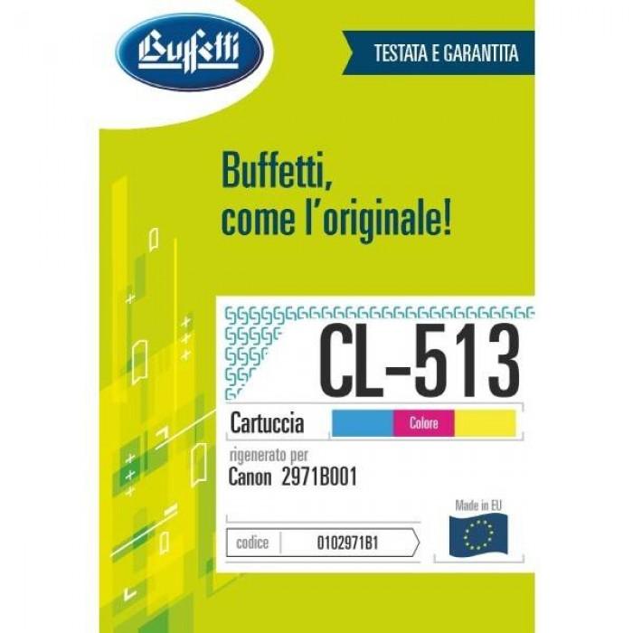 Cartuccia Inchiostro Buffetti per Canon CL-513 colore