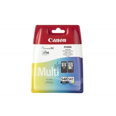 Cartuccia Multipack Inchiostri Originali Canon PG540 + CL541 nera e colore