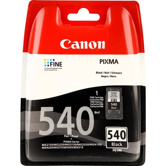 Cartuccia Inchiostro Originale Canon PG540 nera