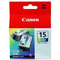 Cartuccia Inchiostro Originale Canon BCI-15 Color 2pz