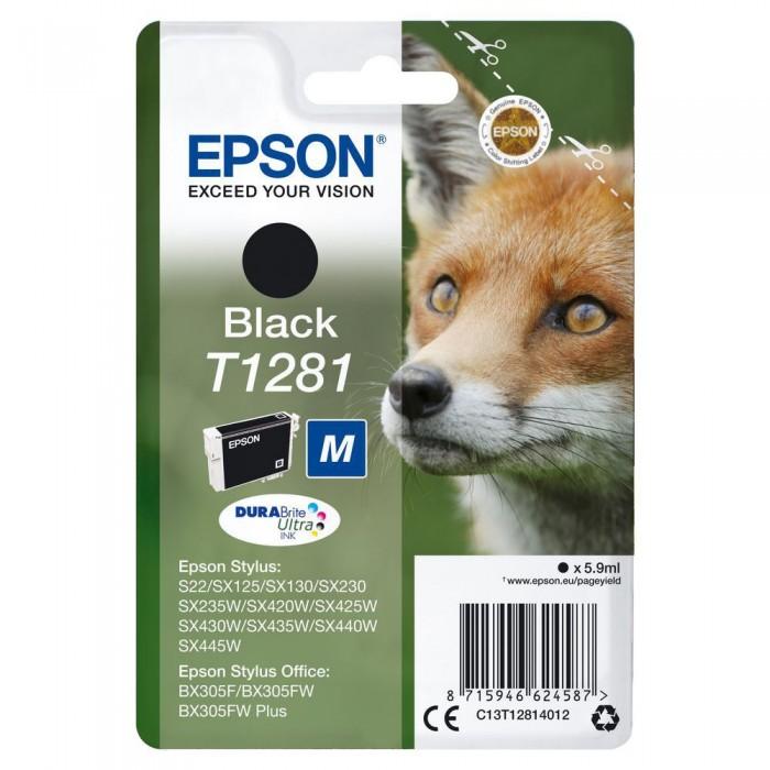 Cartuccia Inchiostro Originale Epson T1281 nera