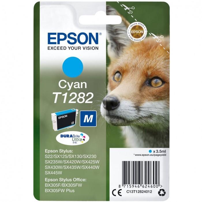 Cartuccia Inchiostro Originale Epson T1282 ciano