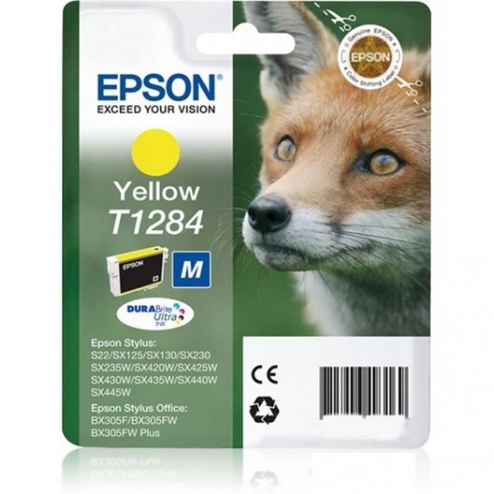 Cartuccia Inchiostro Originale Epson T1284 giallo