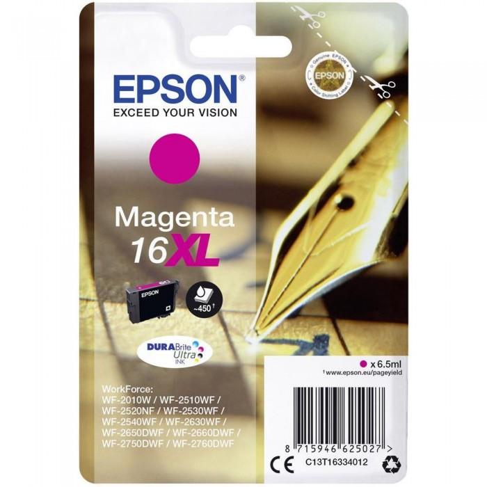 Cartuccia Inchiostro Originale Epson T1633XL magenta