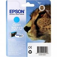 Cartuccia Inchiostro Originale Epson T0712 ciano