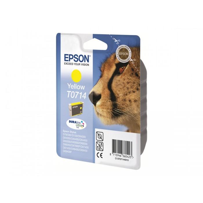 Cartuccia Inchiostro Originale Epson T0714 gialla