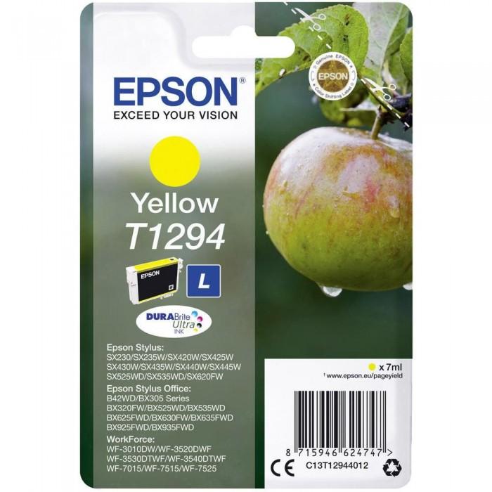 Cartuccia Inchiostro Originale Epson T1294 gialla
