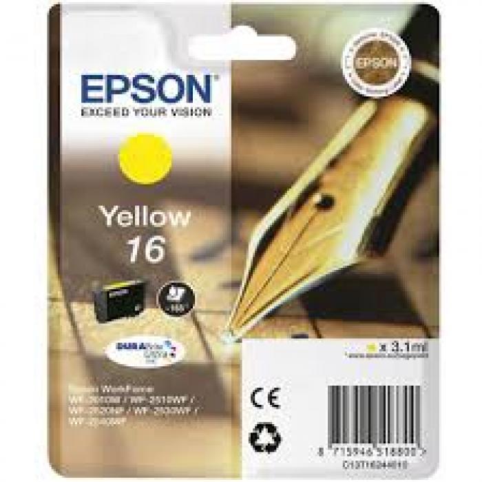 Cartuccia Inchiostro Originale Epson T1624 giallo