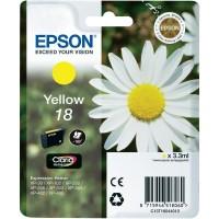 Cartuccia Inchiostro Originale Epson T18 giallo