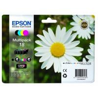 Multipack Inchiostri Originali Epson T18 nera + colori
