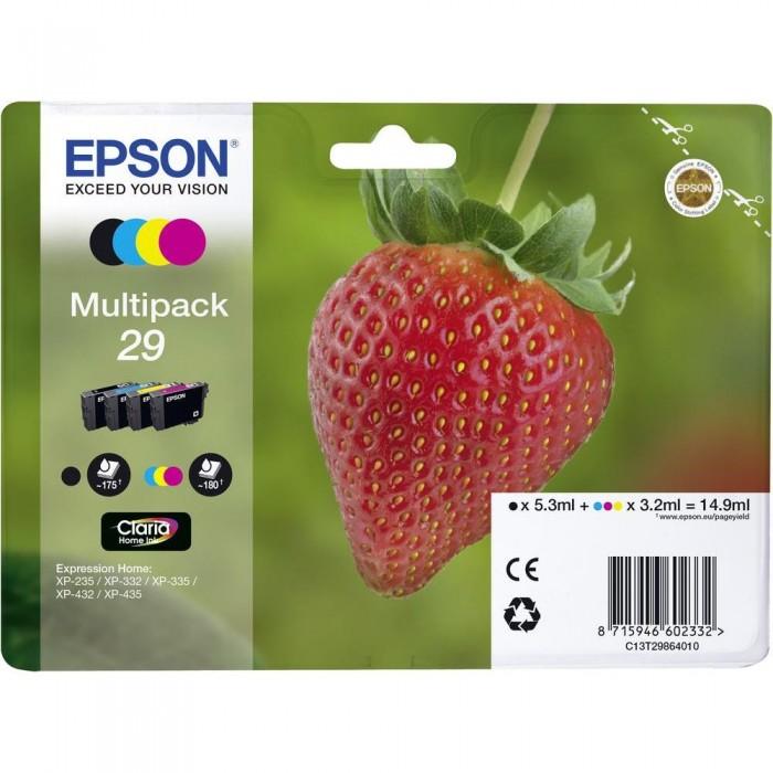 Multipack Inchiostri Originali Epson T2986 nera + colori