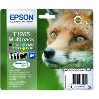 Multipack Inchiostri Originali Epson T1285 nera + colori