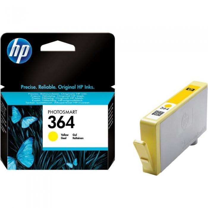 Cartuccia Inchiostro Originale HP 364 giallo