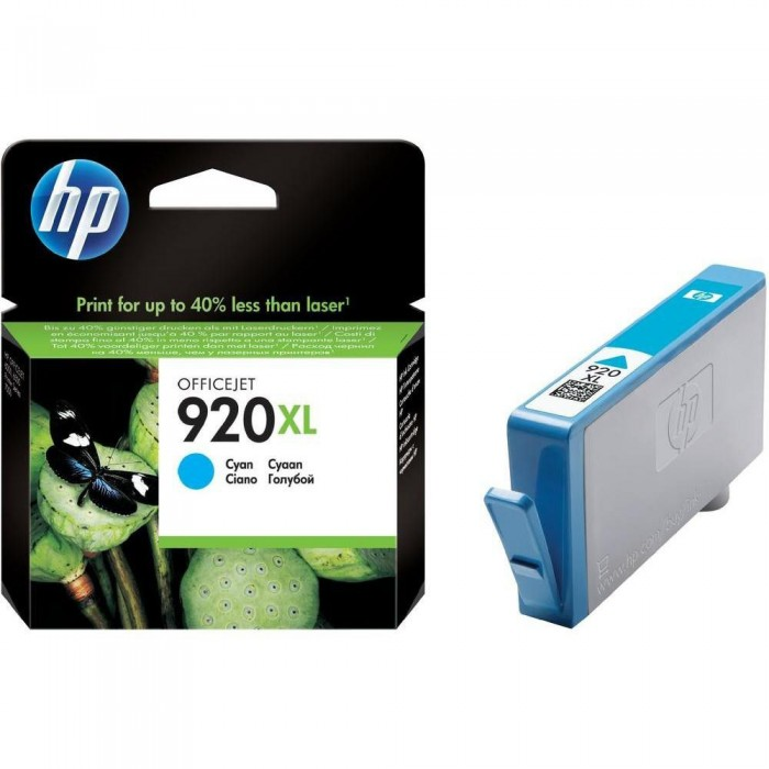 Cartuccia Inchiostro Originale HP 920XL ciano