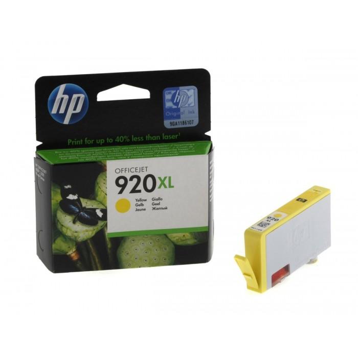 Cartuccia Inchiostro Originale HP 920XL giallo