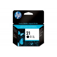 Cartuccia Inchiostro Originale HP 21 nera
